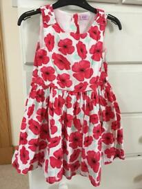 Bundle of girls dresses age 5-6 years