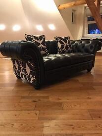 2 Seater + Single armchair Chesterfield