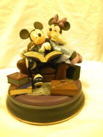 Disney Mickey and Minnie Figurines