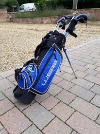 Childrens Golf Club Set - Clubs and Bag