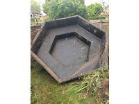 Free pond liner