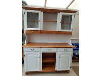 Dresser/pine/welsh dresser/display cabinet