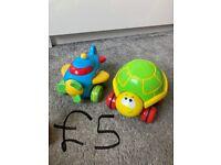 Range of baby/toddler toys