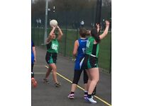 ADULT NETBALL PLAYERS OF ALL NATIONALITIES, SHAPES AND SIZES
