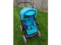 baby carriage, pram