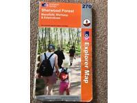 Sherwood Forest Ordnance Survey