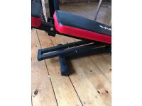 Max strength adjustable weight bench