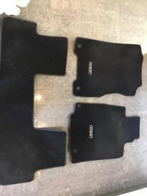 Honda CR-V CRV original / genuine car mats. Full set. Fits 2012-2018 models.