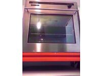 Diplomat built in oven, silver colour, gas oven and grill, for sale