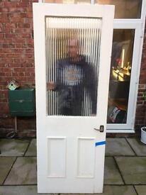 Original Edwardian Victorian wooden doors