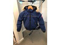 Blue Canada Goose Jacket Age 6-7