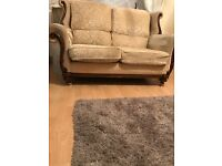 Two vintage sofas