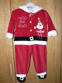 Baby Christmas outfit 9-12 months (Mamas & Papas)