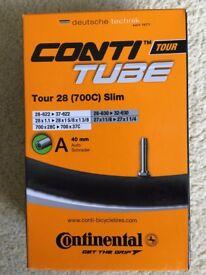 Inner Tubes - Conti Tour 28 (700C) Slim
