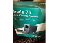 5 Speakers from Movie 75 Home Cinema System WITHOUT the subwoofer