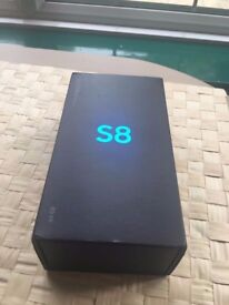 Samsung Galaxy S8 Sealed Sim Free 64GB Sealed Boxed