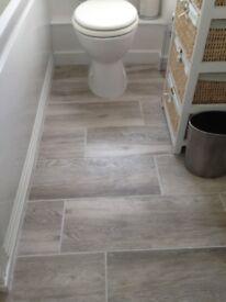 Ceramic floor tiles x 12