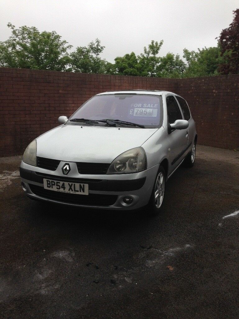 Renault Clio 1.2 cheap insurance,new clutch fitted
