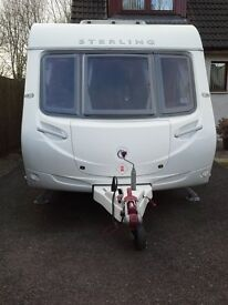 2011 STERLING EUROPA 460 2BERTH WITH MOTOR MOVER £8800, Ideal starter van. Alness Highland