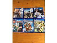 PlayStation 4 + 6 games