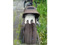 Maclaren Push Chair / Pram in Brown