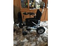 Freedom Folding Electric Wheelchair A08 - As New
