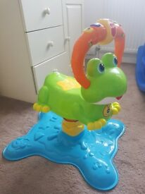 Musical sit on frog