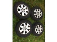 Vw transporter t5 standard alloys