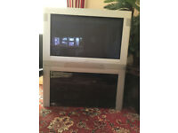 "34"" Phillip TV flat screen"