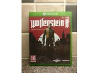 Wolfenstein 2 - (Wolfenstein II: The New Colossus) - Xbox One Game *As New Condition*