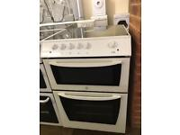 VERY NICE CONDITION 60 CM INDESIT ELECTRIC DOUBLE OVEN COOKER