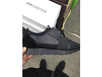 Brand new Balenciaga runners - sizes 4-12 - triple black
