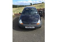Ford Ka for sale, no MOT but very low mileage