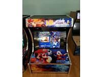 Sega vs nintendo bartop arcade (SOLD 😊)