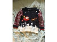 George Boys Christmas Jumper aged 2-3.