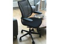 Humanscale Liberty Chair, Black (new £629)