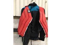 Canoe jacket and life jacket etc