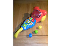 Children's toy vacuum cleaner, it collects the balls