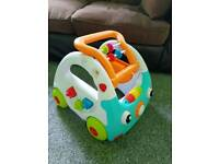 Infantino 3 in 1 Sensory Walk and Discovery car.