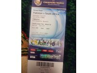 Pakistan vs south africa gold ticket