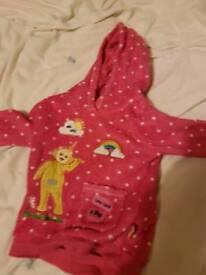 Teletubbie hoodie 12 to 18 months