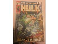 The Incredible Hulk 1969 #118 pre owned