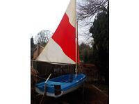 Skipper 12 Dinghy Sailing Motor Boat