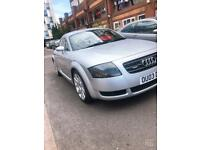 Audi TT with low mileage very cheap