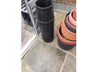 Grow bag pots/tomato collars