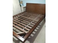 Gorgeous mahogany hardwood American Queen size bed