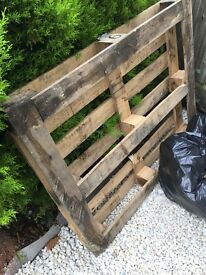 Anyone want a pallet? Standard delivery size. Free to collect.