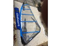4.5m Tushingham Storm windsurf sail in good condition