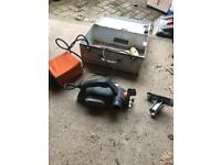Sander to be used with transformer connection