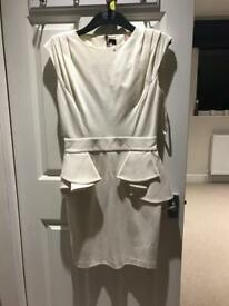 Ted baker cream dress